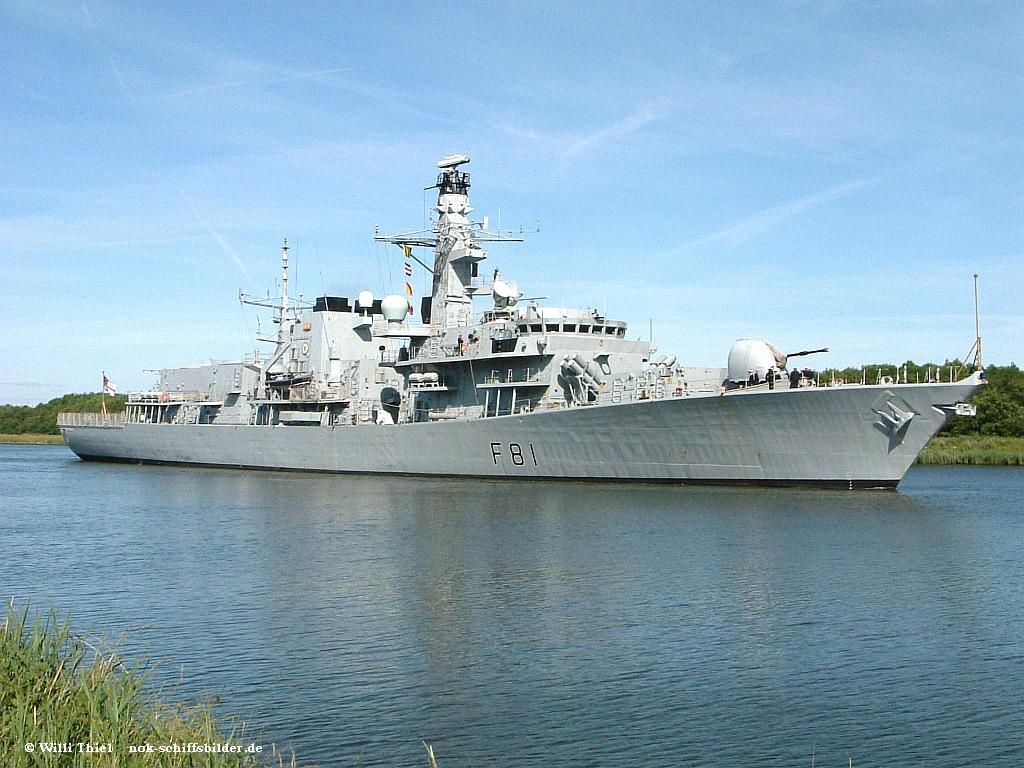 F 81 HMS Sutherland