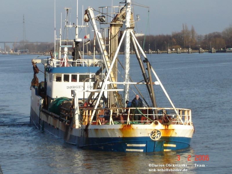Dänischer Fischkutter