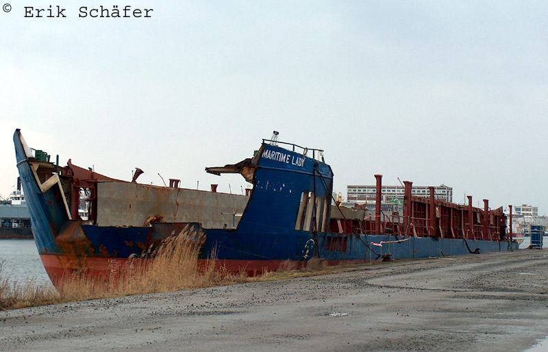 KOLLISION Maritime Lady