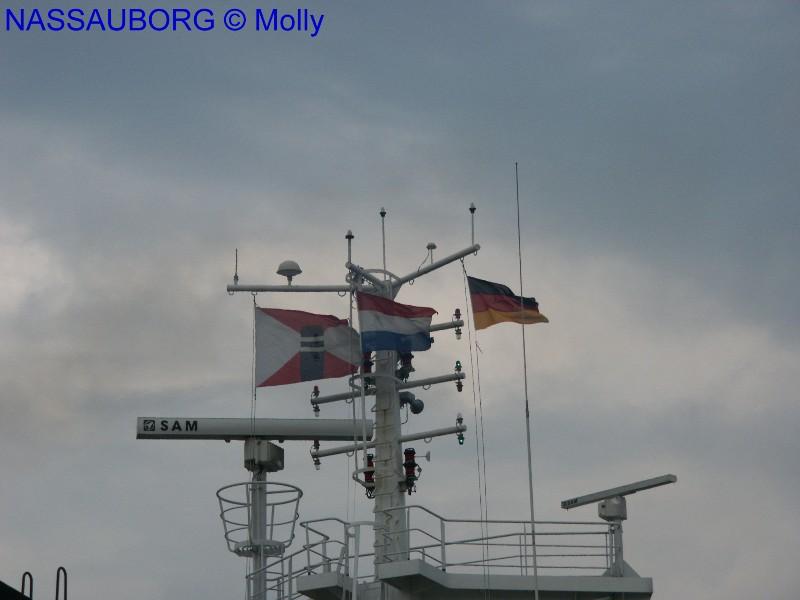 NASSAUBORG FLAGGEN