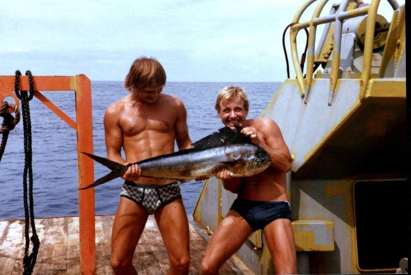 Der Koch der Matrose & der Fisch