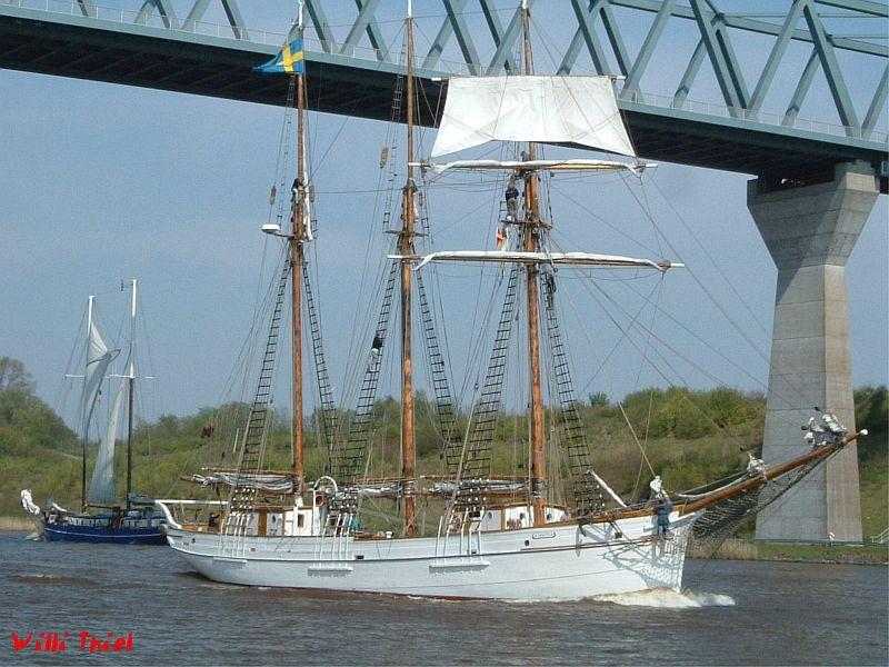 Schwedisches Segelschiff