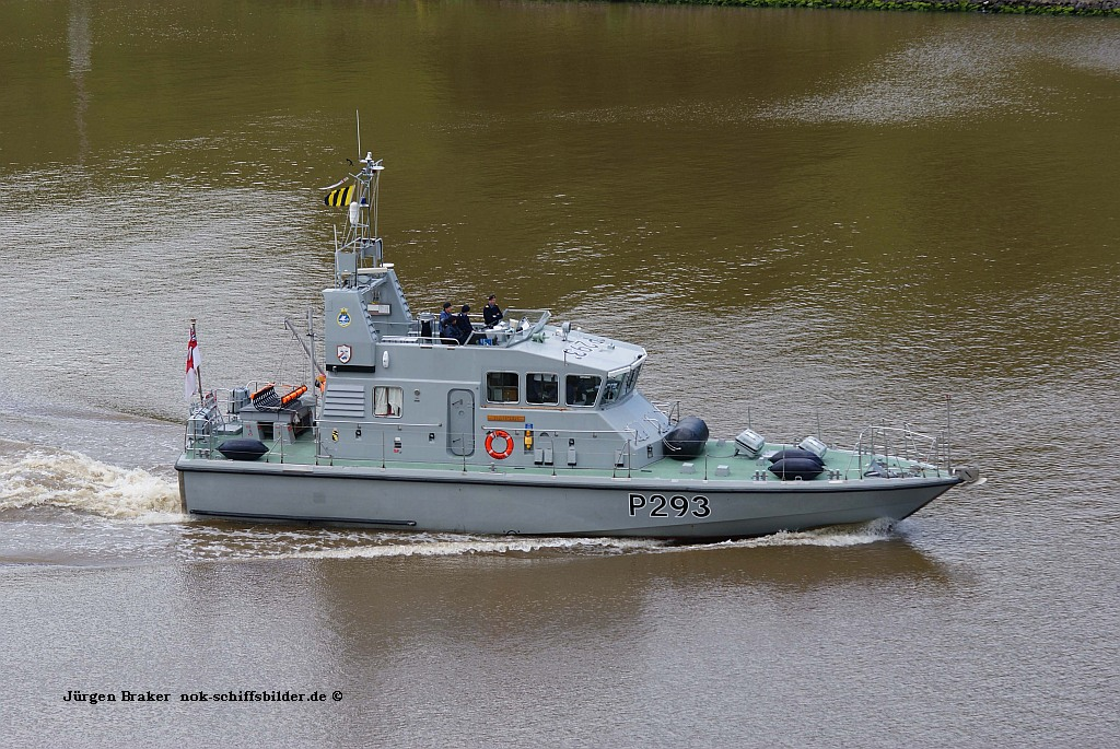 HMS RANGER P293