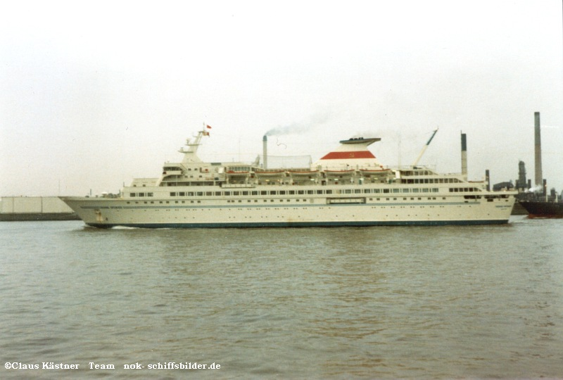 Russisches Passagierschiff