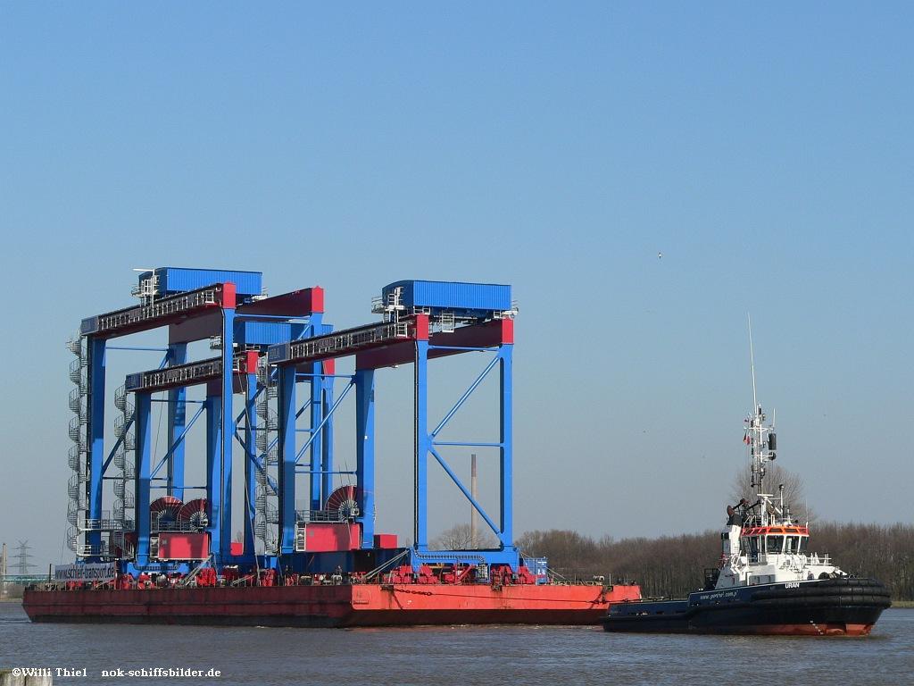 URAN & Barge