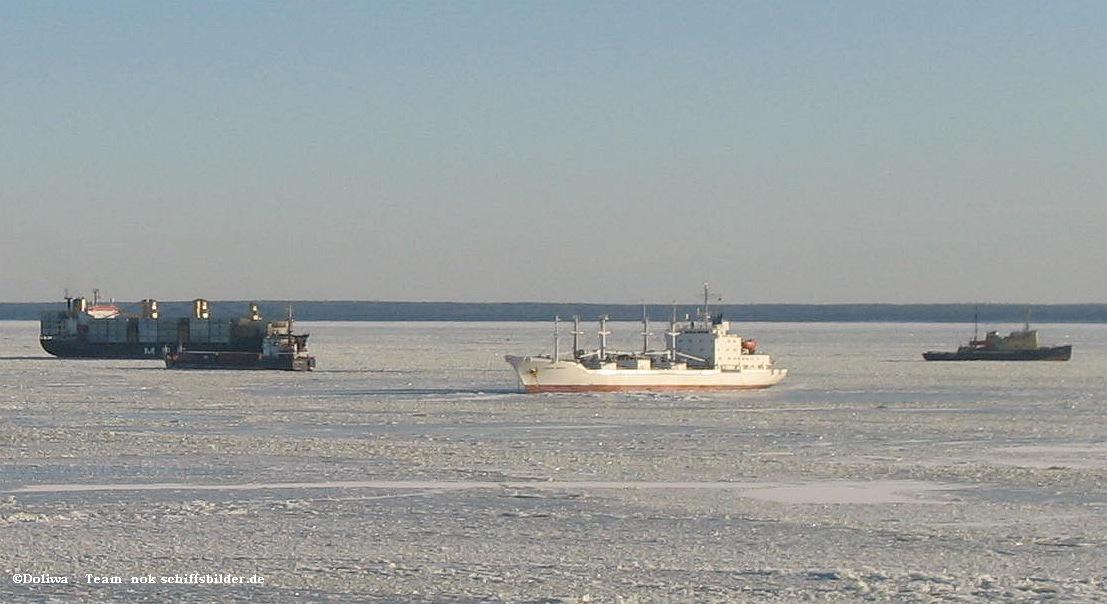 Schiffe im Eis