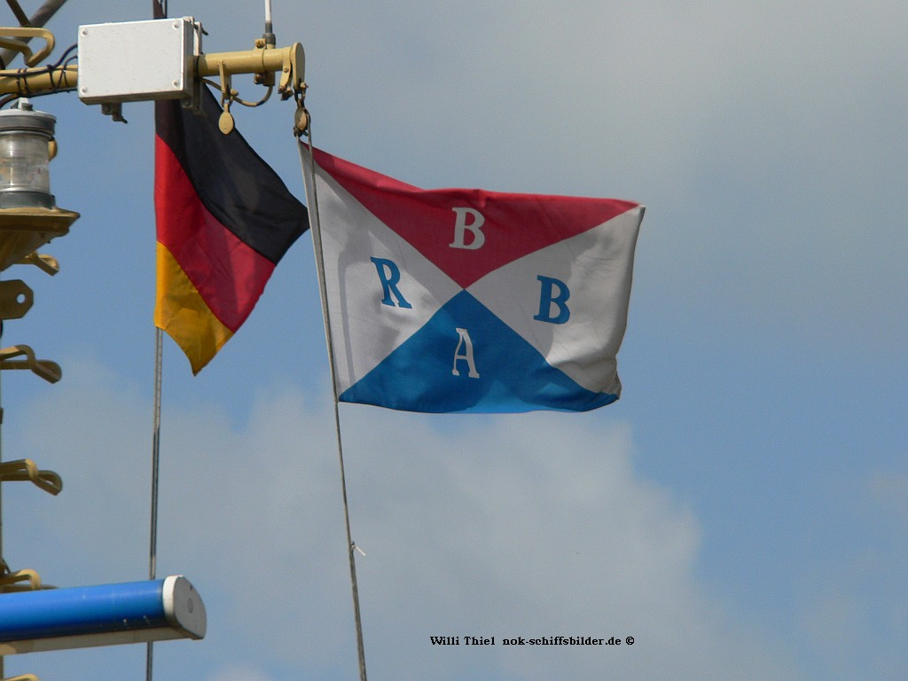 BUGSIER Reederei Flagge