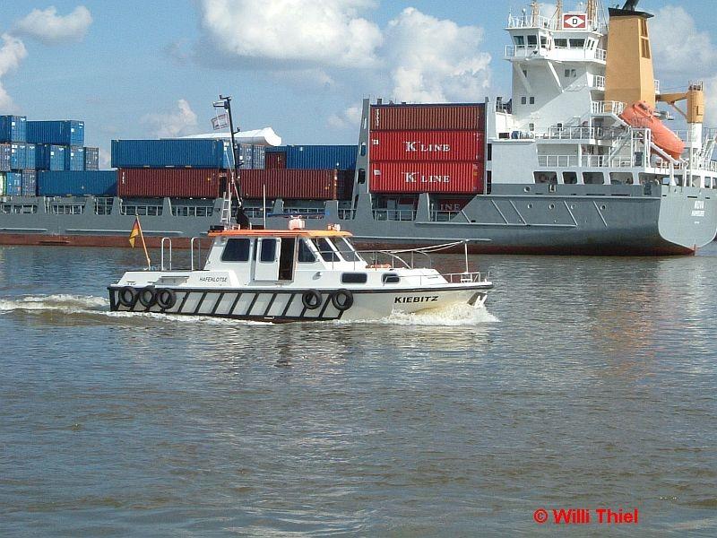Der Hafenlootse kommt