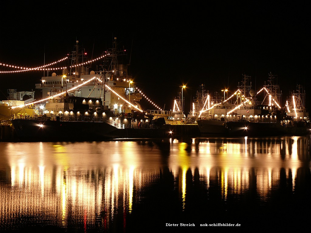 Weihnachten 2013 am Marinestützpunkt Kiel