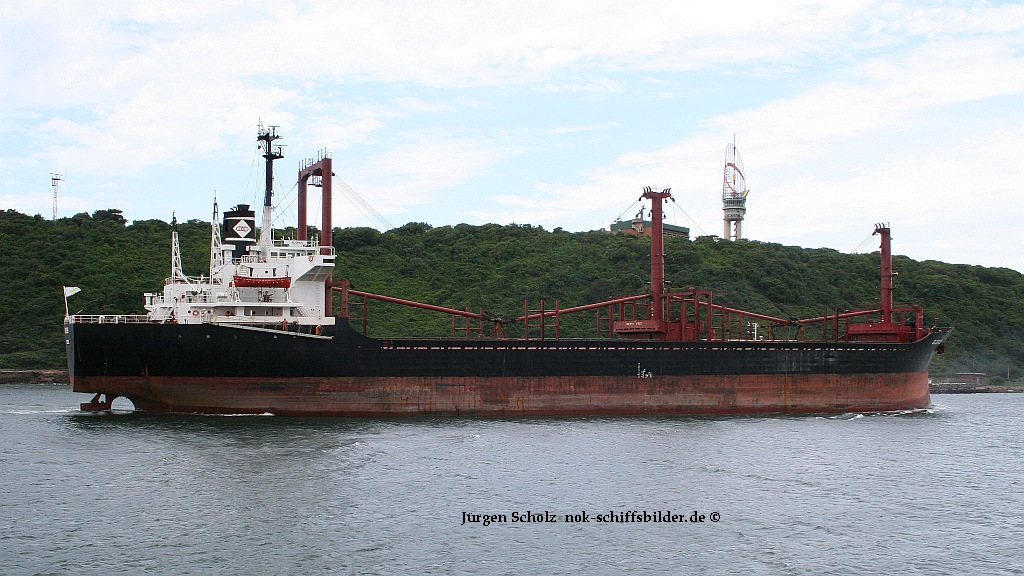 Zypriotischer Frachter...