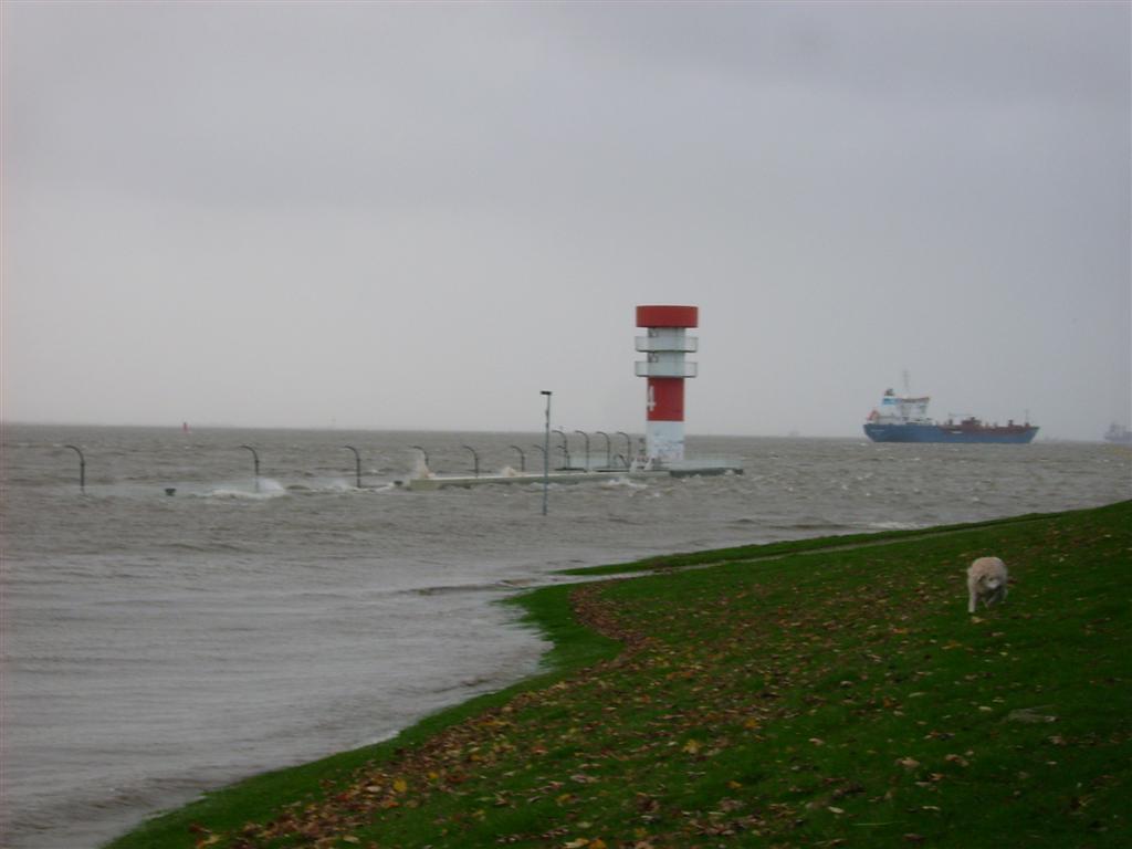 Sturmflut/ Brunsbüttel