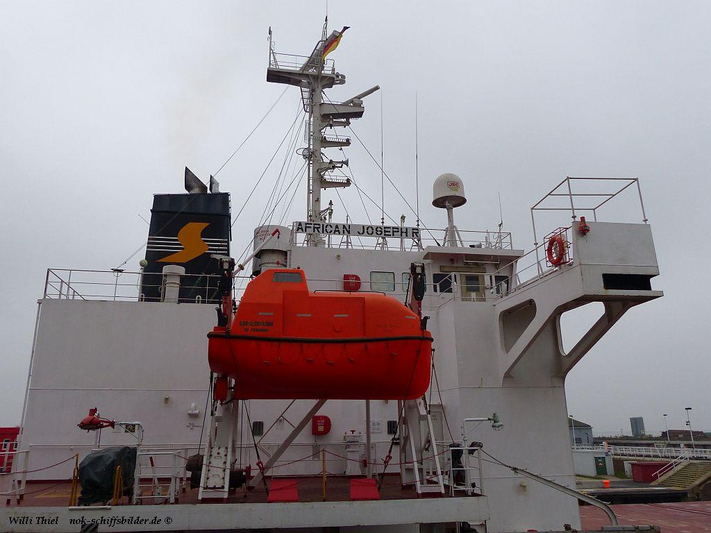 AFRICAN JOSEPH R - SEA VISION SHIPPING