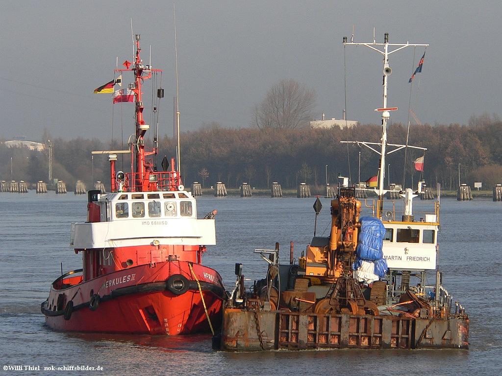 HERKULES II & Barge  MARTIN FRIDRICH