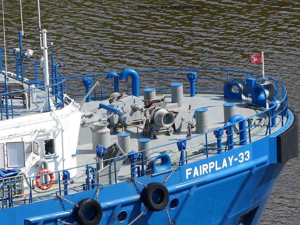 FAIRPLAY-33 Vorschiff-Back