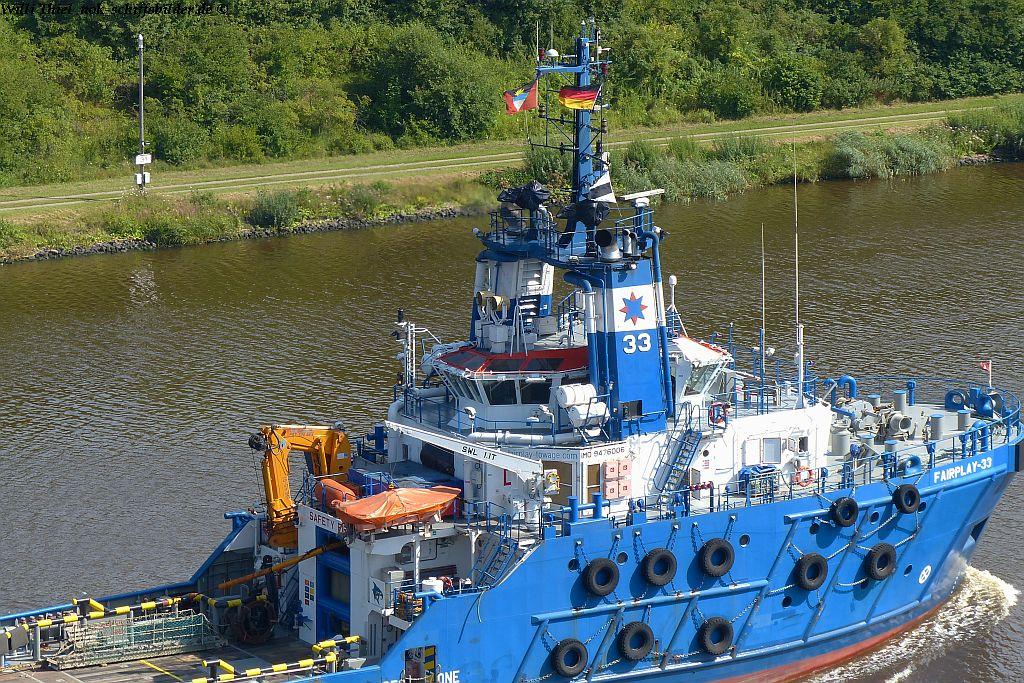FAIRPLAY-33 Vorschiff