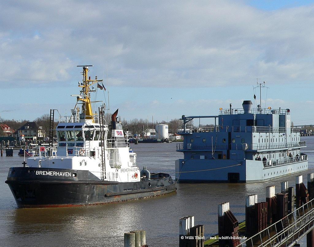 BREMERHAVEN & Wohnschiff