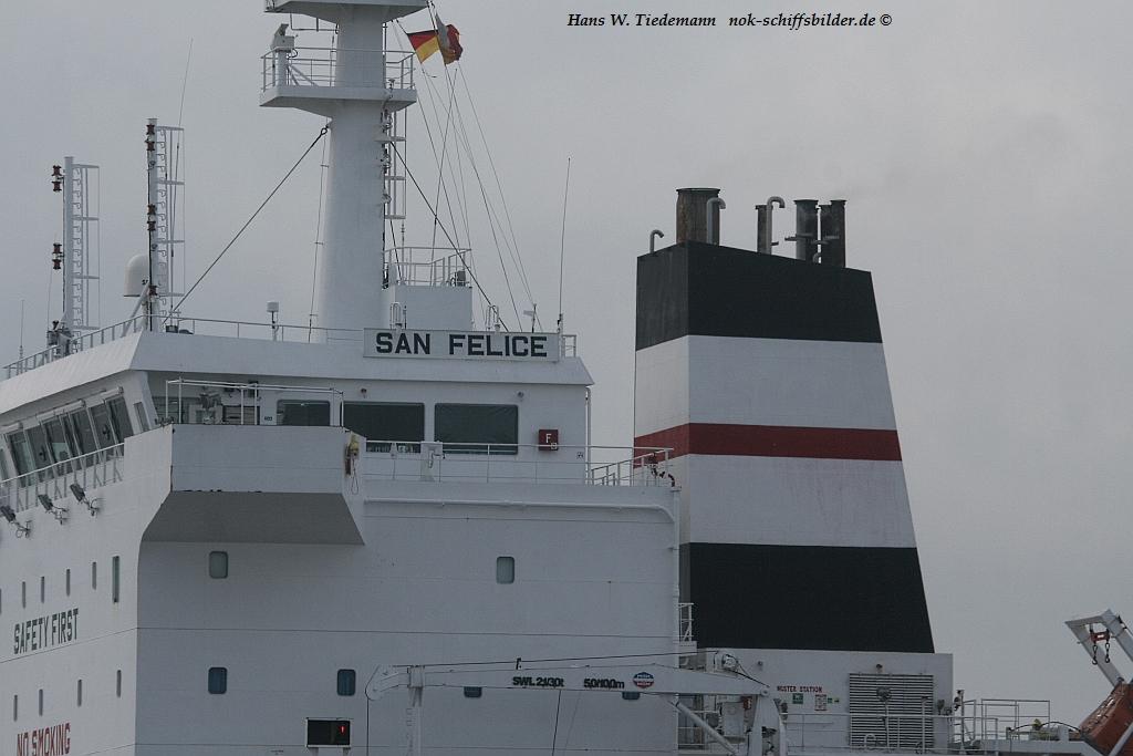 SAN FELICE -SEAQUEST SHIPMANAGEMENT