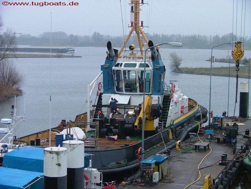 Damen Werft Schlepper Neubau