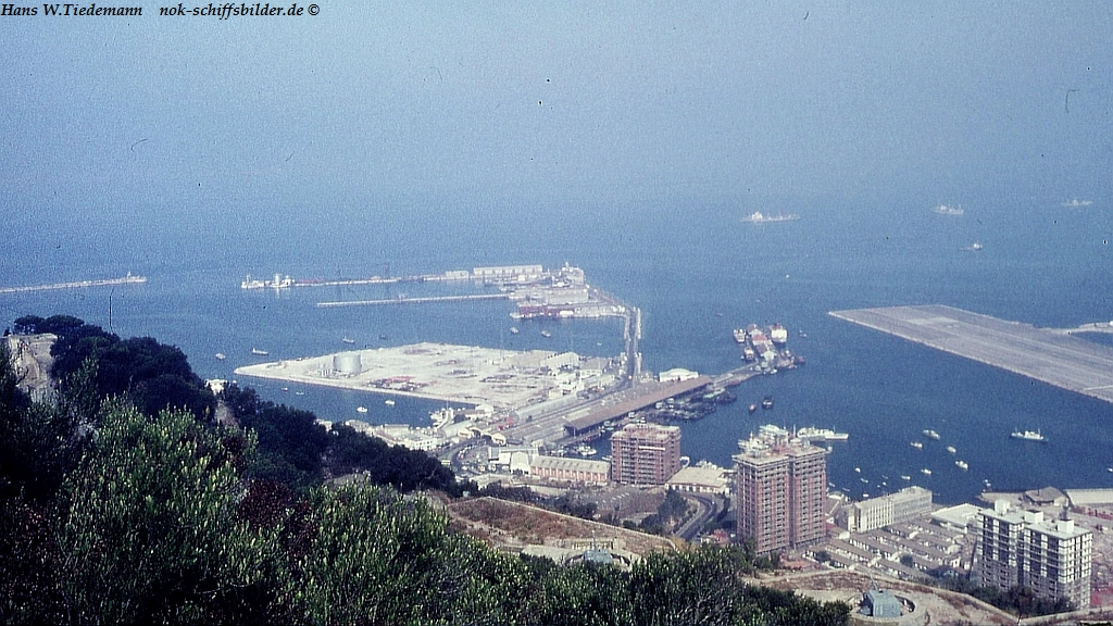 Gibraltar, Harbour and Runway