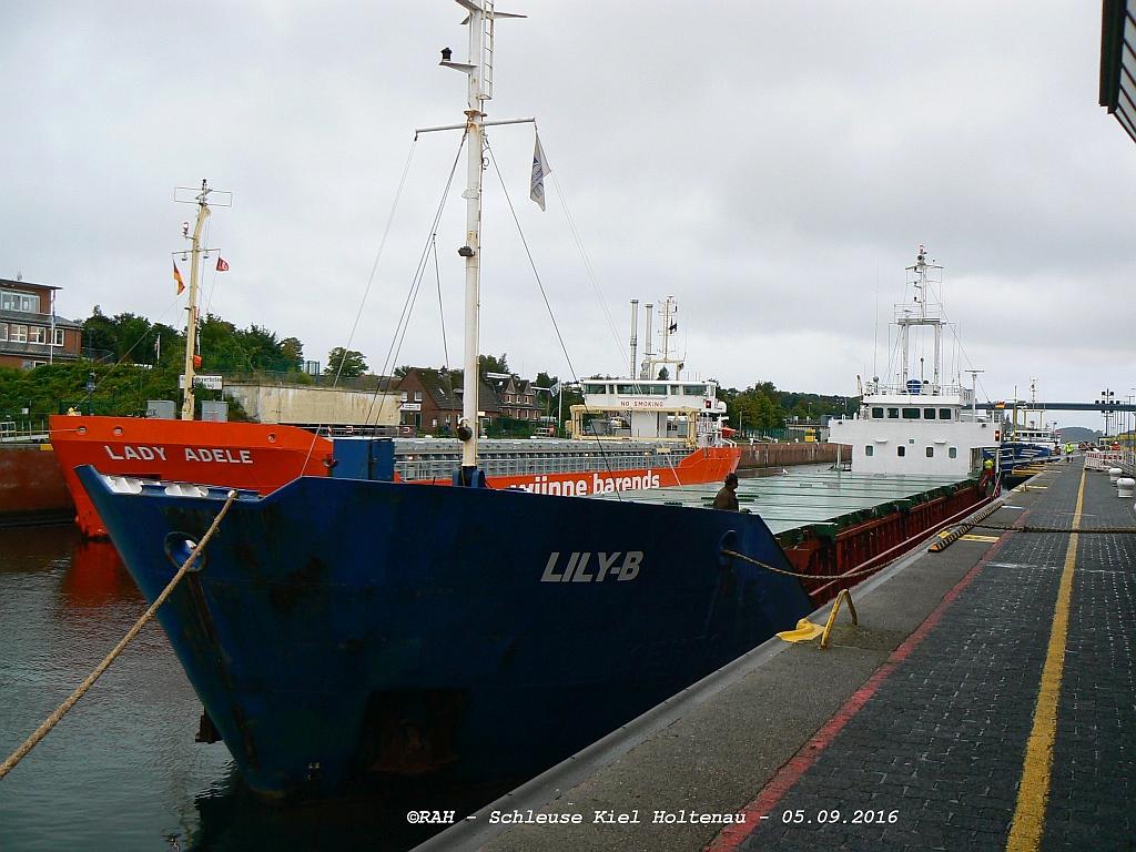 LILY-B Ölspur