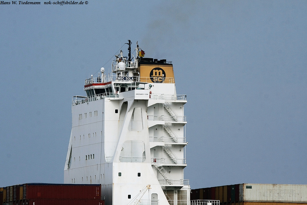 MSC SOLA - MSC MEDITERRANEAN SHIPPING