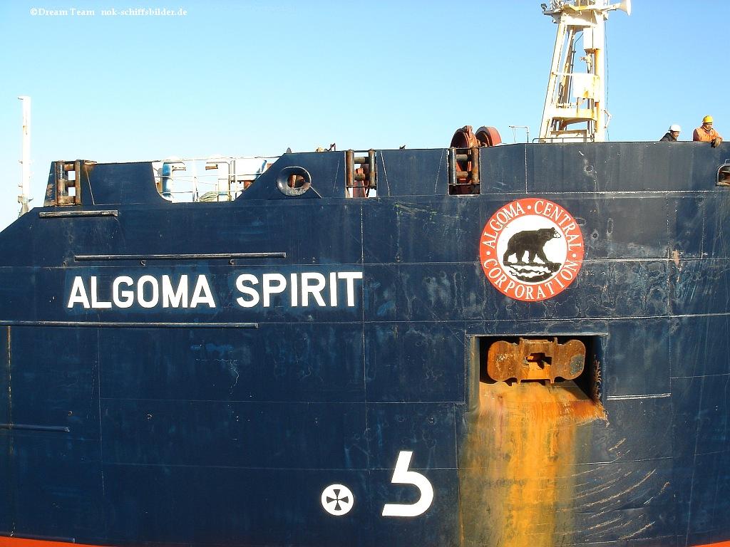 ALGOMA SPIRIT