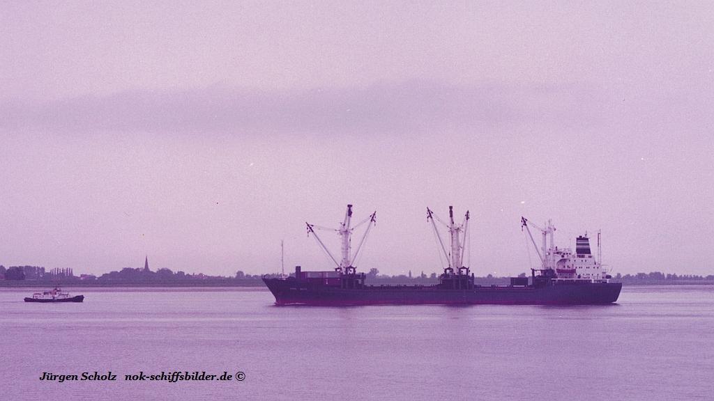 CAPE JOTA ... ??? Weser Bremerhaven 07.1984