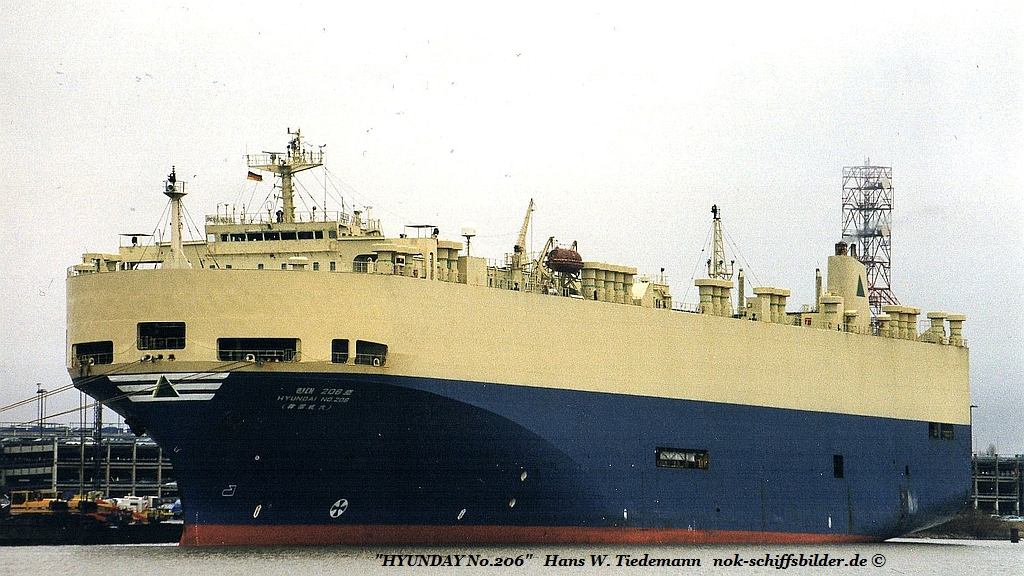 Hyundai No. 206, PAN - 16.01.00 Bhv