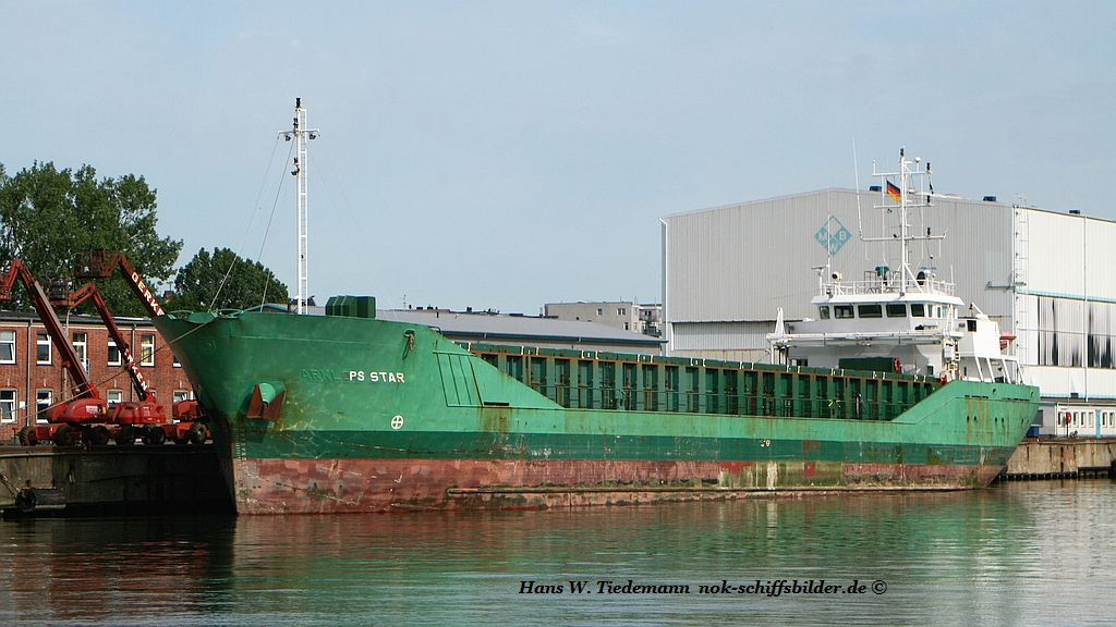 PS Star, BHS, -99, 2.271 gt, 3.211 dwt - Bhv 26.01.17