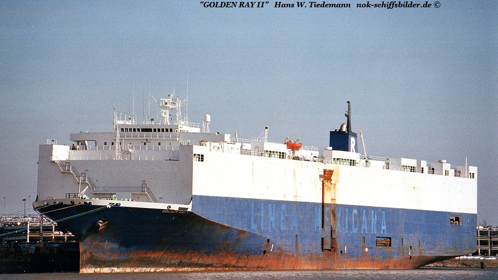 Golden Ray II, LBR - 14.03.04 Bhv Nordh.
