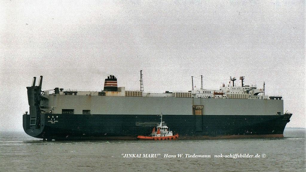 Jinkai Maru, JPN, Tokyo - 30.04.89 Weser