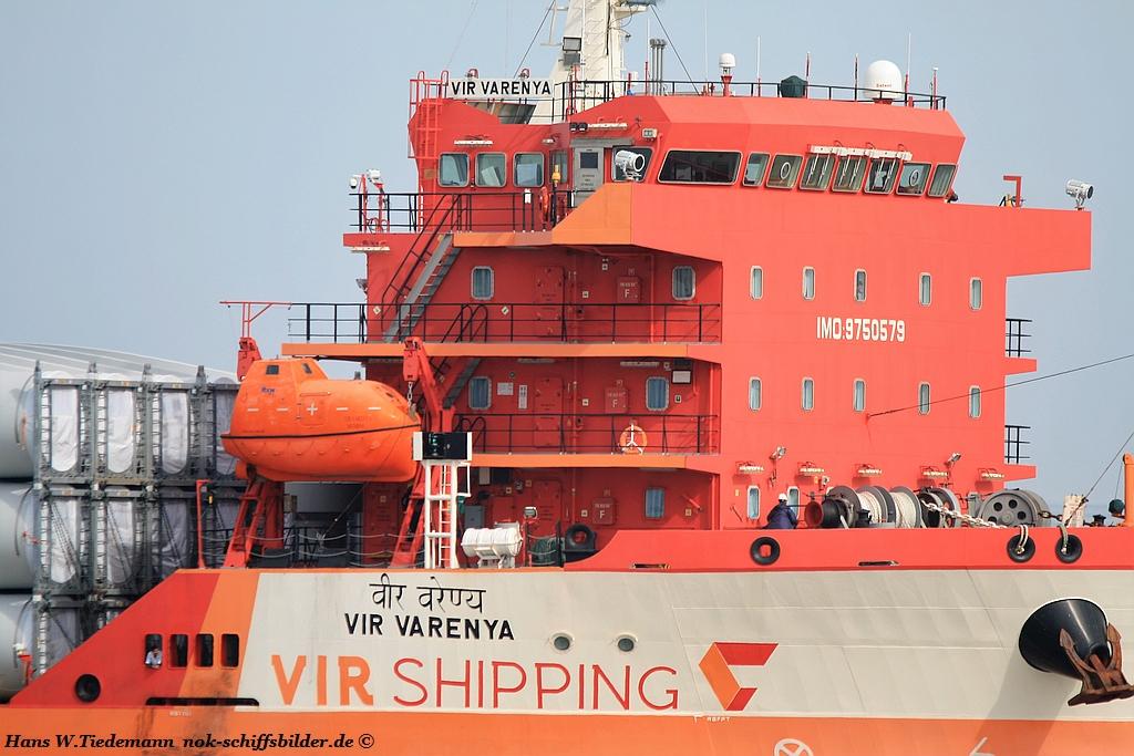 VIR VARENYA  - Vir Shipping /BOXCO LOGISTICS India
