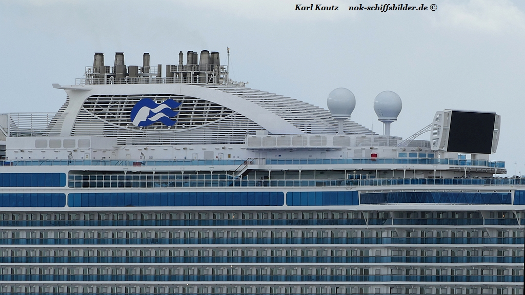 SCHORNSTEIN der REGAL PRINCESS