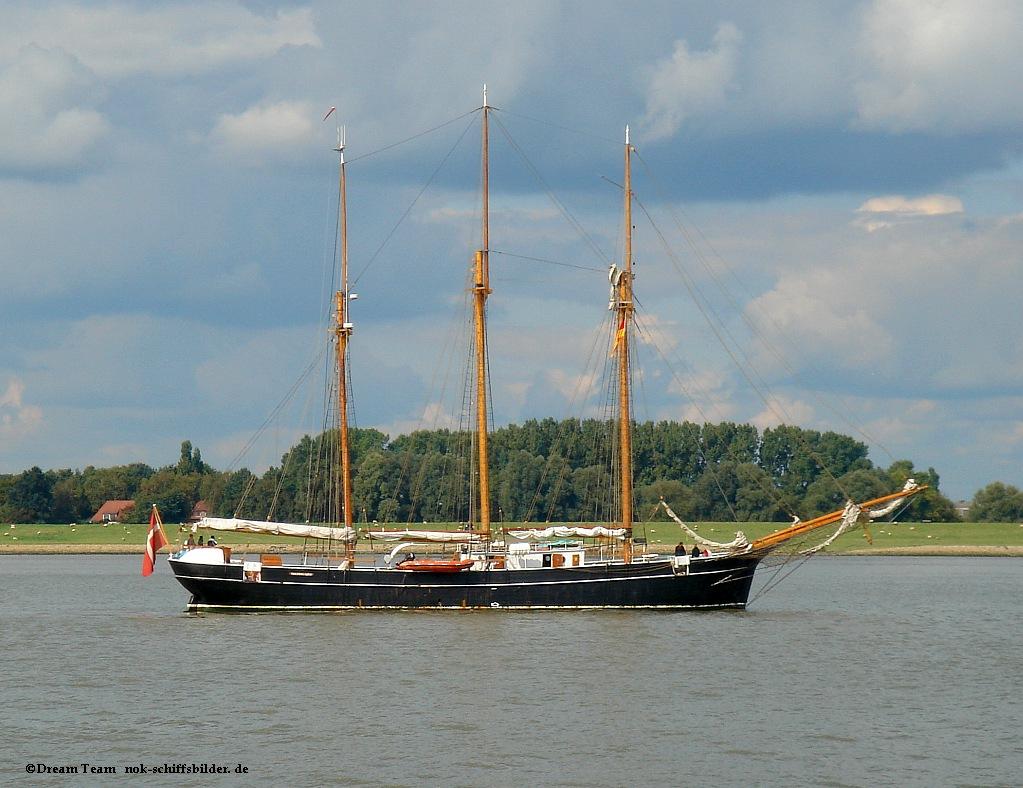 Dänisches Segelschiff