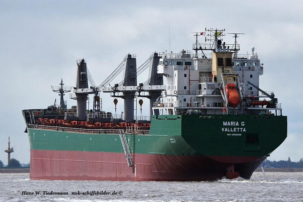 Maria G, MLT, IMO 9358369 - Weser