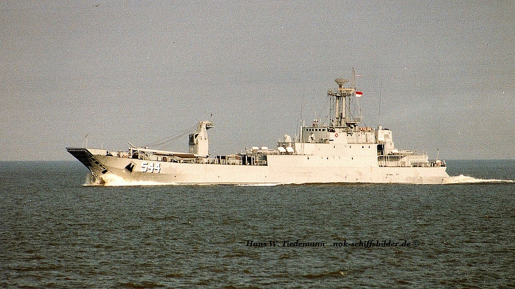 KRI Teluk Sabang 544, IDN, ex Südpferd 172, DDR - 29.04.95