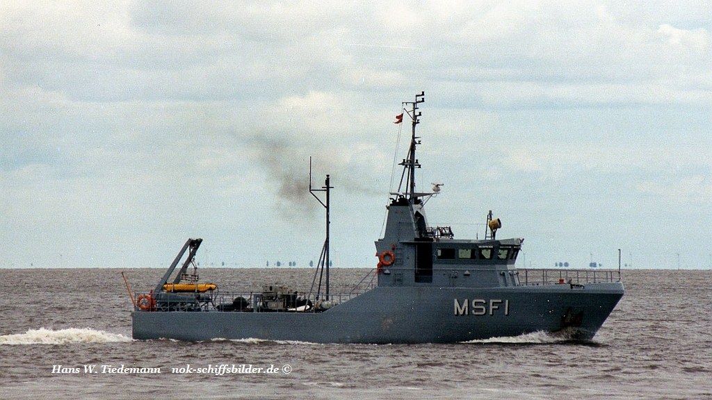 MSF 1, drone minehunter - 26.07.99 Elbe