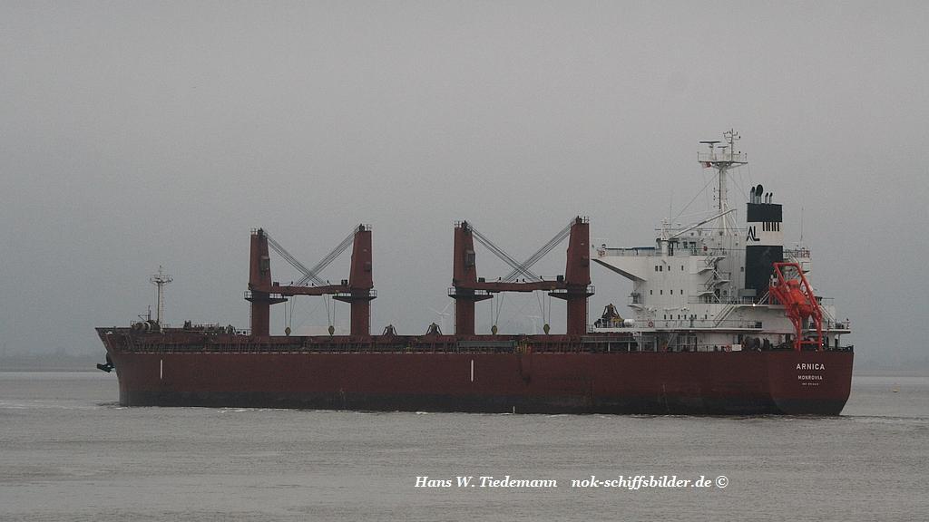 Arnica, LBR, IMO 9514418 - Weser 07.03.2017
