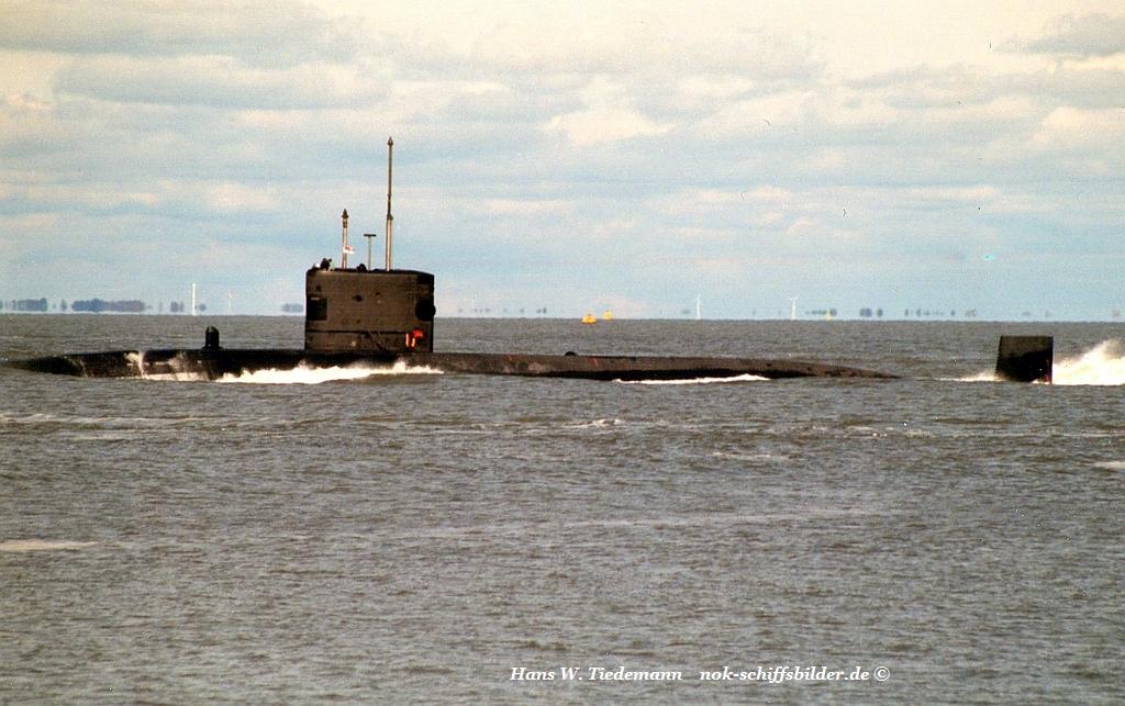 nuclear submarine - 15.05.95 Cux