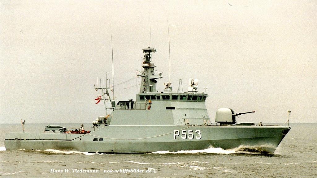 Laxen P 553, Flyrefisken class - 29.07.96 Cux