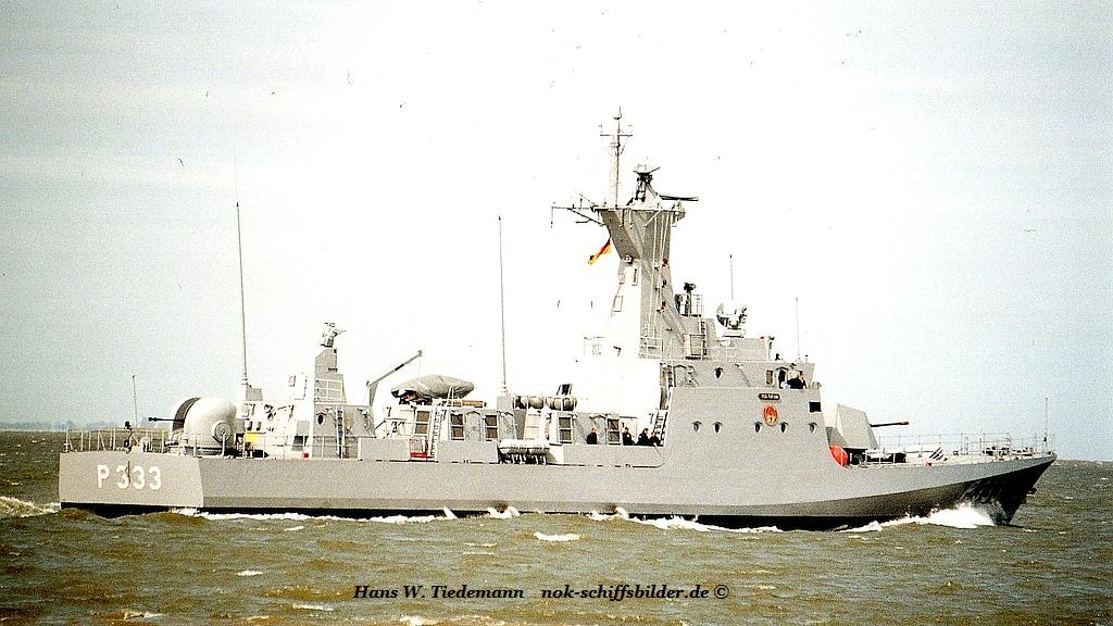 TCG Tufan, TUR, patrol vessel - 05.05.05 Weser