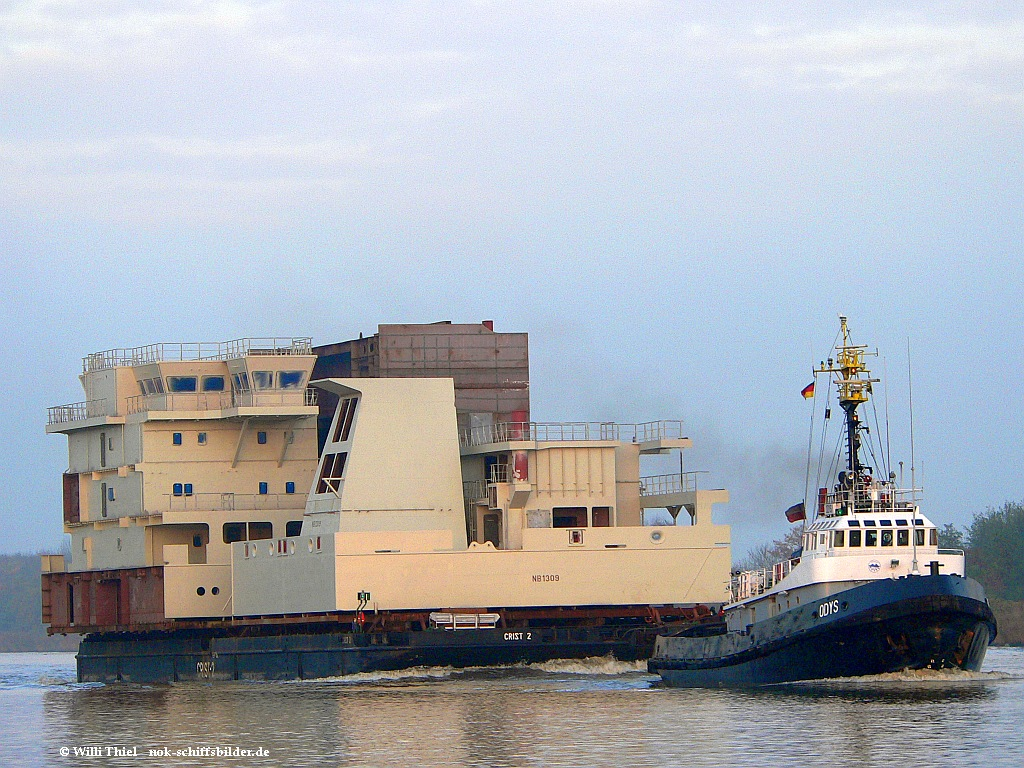 ODYS & Barge CRIST 2