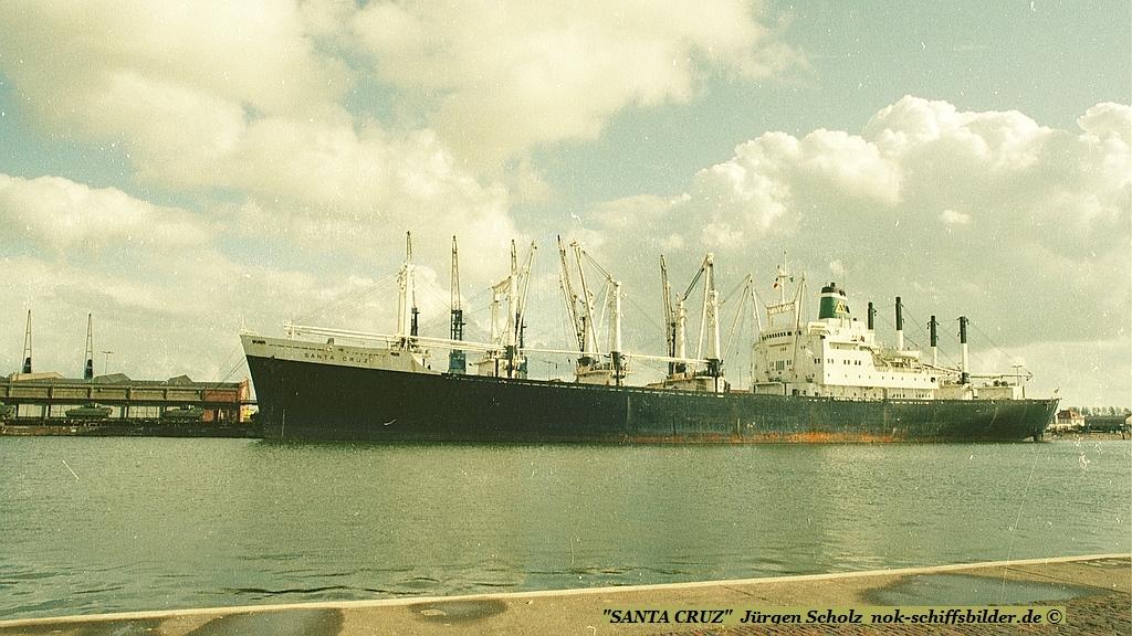 SANTA CRUZ   Bremerhaven 09.1983