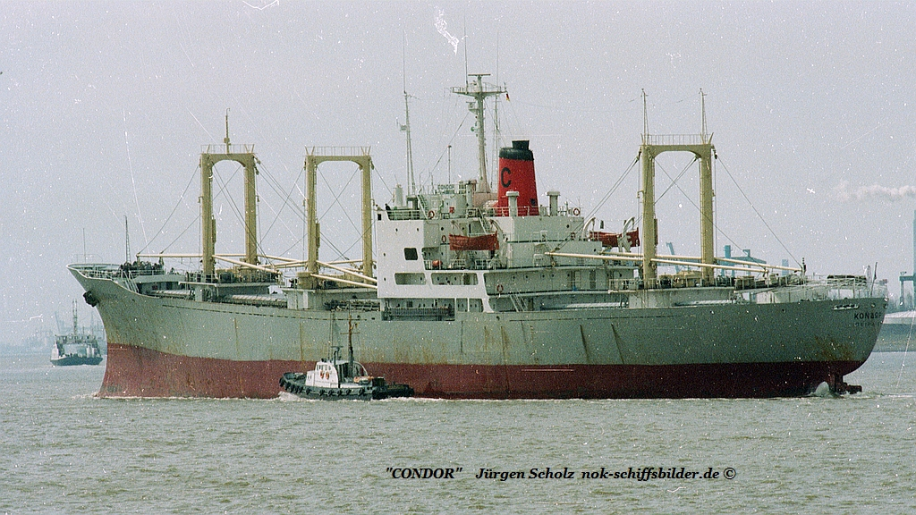 CONDOR  Weser Bremerhaven  04.1983.jpg Imo 6705925