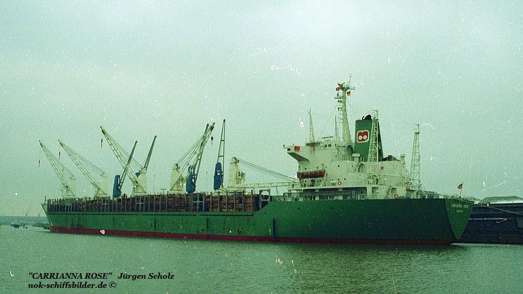 CARRIANNA ROSE Bremerhaven 02.1983.jpg