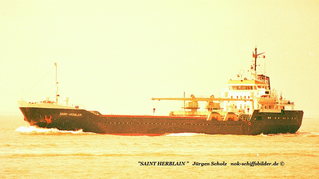 Saint HERBLEIN Weser Bremerhaven 08.1987 Imo 7411583