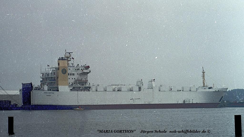 MARIA GORTHON Bremerhaven 07.1990