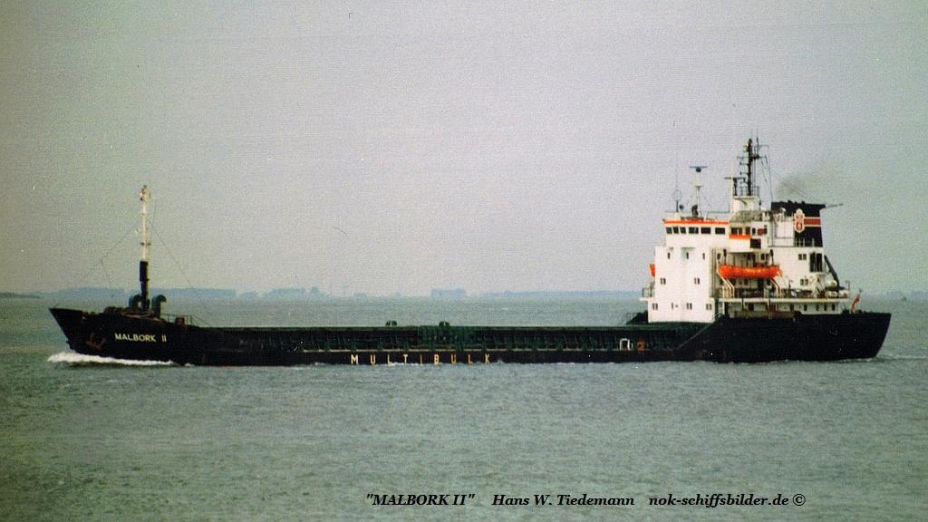 Malbork II, POL, Szczecin - 17.07.95 Schelde