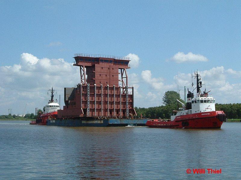 Westsund mit Ponton (Svendborg)