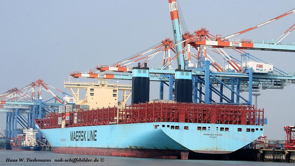 Munkebo Maersk, DIS, IMO 9632117 - Bhv